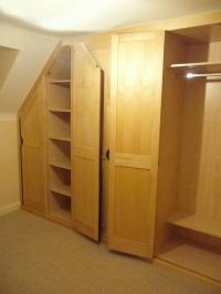 FITTED MAPLE WARDROBES