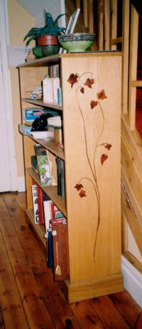 MARQUETTRY BOOKCASE