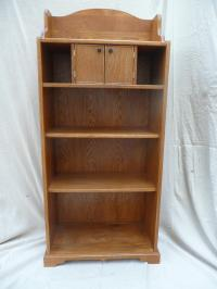 MEDIUM OAK BOOKCASE